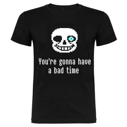 Foreverdai Camiseta Undertale - You'Re Gonna Have a Bad Time (Adulto M)