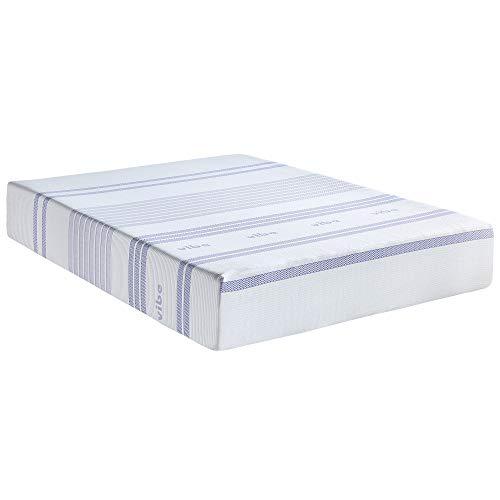 Vibe Gel Memory Foam 12-Inch Mattress   CertiPUR-US Certified   Bed-in-a-Box, Twin
