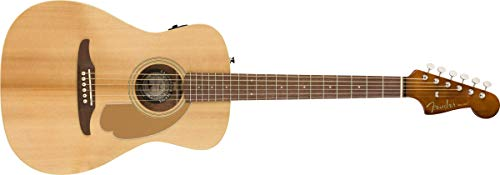 Fender Malibu - Guitarra electroacústica natural