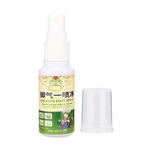 Spray déodorant pour les pieds, élimination de 30 ml de béribéri Enlever la transpiration des odeurs de pieds