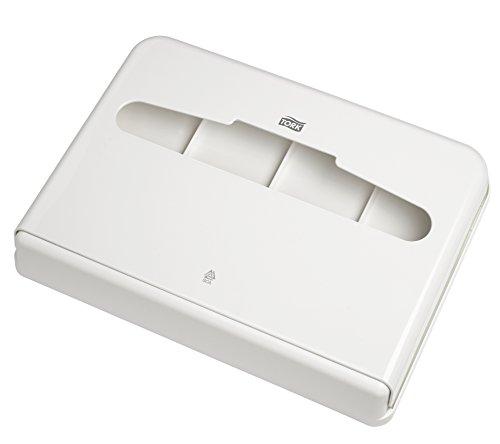 Tork 344080 Dispensador de cubreasientos para inodoro / Sistema V1 de papel cubreasiento wc / Blanco