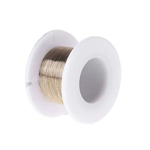 ADUCI 1pc 100m de la aleación del molibdeno del Corte del Alambre Línea de Pantalla LCD de Pantalla Separador Reparación (tamaño : 0.10mm)