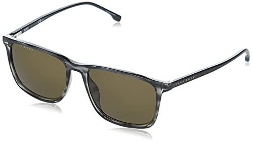 Hugo Boss Boss 1046/S Gafas de Sol, Grey Horn, 56 para Hombre