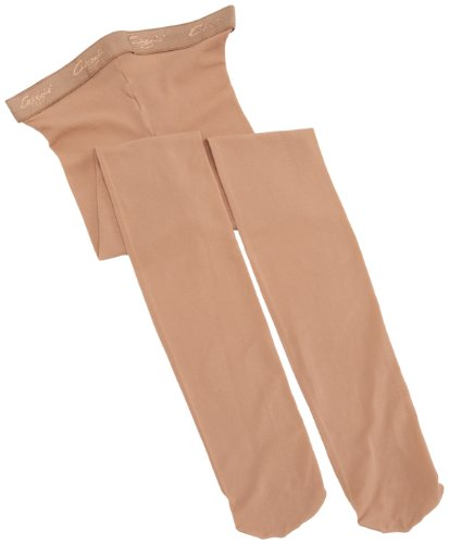 Capezio N14c - Mallas para mujer, Mujer, Medias con pie, N14C-SUNL, Suntan, 41974
