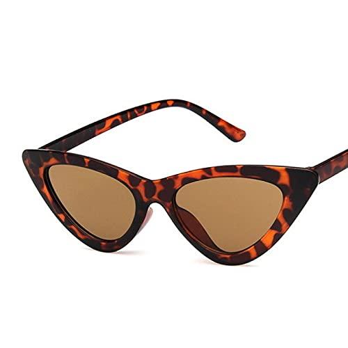 Lsdnlx Gafas de Sol,Gafas Gafas de Pesca Gafas de Sol Retro Vintage Gafas de Ojo de Gato Gafas de Sol de Ojo de Gato pequeño y Sexy