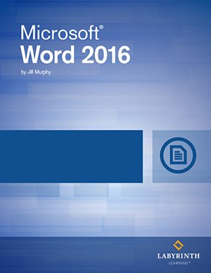 Microsoft Word 2016: Level 1, Printed Textbook with ebook