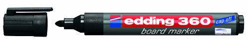 edding Whiteboardmarker edding 360, nachfüllbar, 1,5-3mm, schwarz