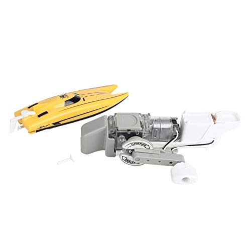YOUTHINK Handkurbel Power Generation Boat Handbuch Assenbly Modell Lernspiel Spielzeug Geburtstagsgeschenke Handwinde Stromaggregat für Kinder Lernspiel