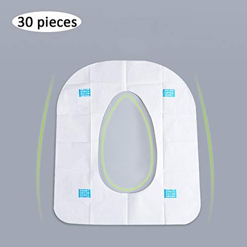 NFLOBD Universele VS- en verwijderbare stoelhoezen, waterdicht, toiletpapier, voor op reis, hotel, toiletpapier, openbare toiletservice voor kinderen, kamperen