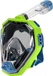 TECNOPRO Ff10 C Tauchmasken grün/blau XS
