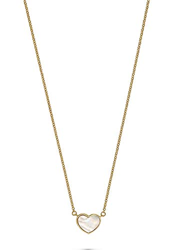 JETTE Silver Damen-Kette Jette Muttertag 2020 925er Silber 1 Perlmutt One Size Gold 32012782