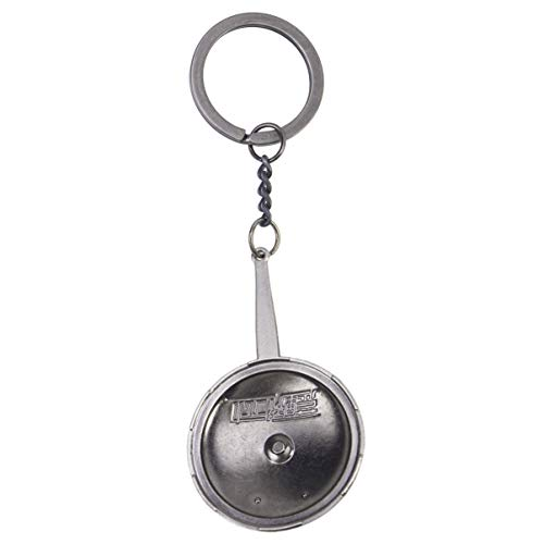 Toyvian 1 stücke Schnellkochtopf Keychain Dekoration Charme Coole Mode Geldbörse Tasche Anhänger Auto Schlüsselring Kreative Geschenk