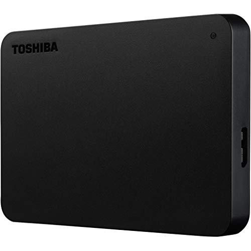 Toshiba HDTB410MK3AA Festplatte Canvio Basics 1TB exclu, Schwarz