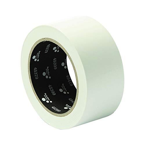 SCHULLER Bau-Klebeband | PVC MASK G | weiß | UV-beständig | 50 mm x 33 m | 1 Rolle