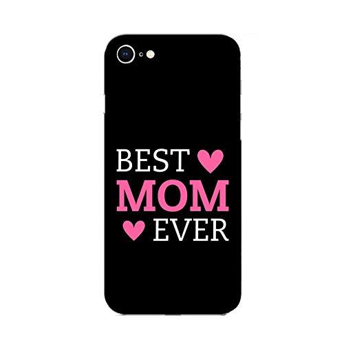 Funda iPhone 6 plus Carcasa Apple iPhone 6 plus Día de la madre la mejor madre de todas / Cubierta Imprimir también en los lados / Cover Antideslizante Antideslizante Antiarañazos Resistente a golp