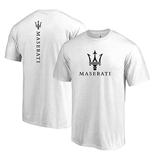 Camiseta Casual De Manga Corta Con Estampado 3D M.Asera-Ti Camisetas De Manga Corta Con Cuello Redondo, Camiseta Casual De Verano De Manga Corta,Blanco,XL/X~Large