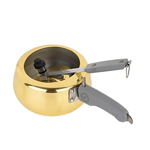 PARAMPARAGAT UPYOGITA Pressure Cooker   Brass Pressure Cooker with Kalai   Inside lid Cooker (2 litre)
