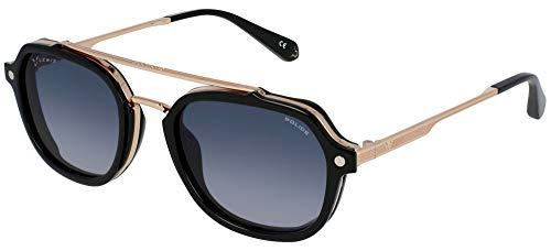 Gafas de Sol Police LEWIS 05 SPLA26N POLICE X LEWIS HAMILTON Rose Gold Black/Grey Shaded 52/21/145 unisex