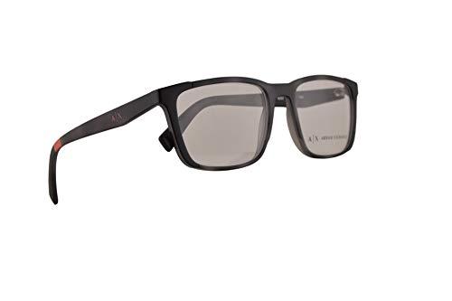 Armani Exchange AX3052 Brillen 54-18-140 Matt Grauen Havana Mit Demonstrationsgläsern 8252 AX 3052