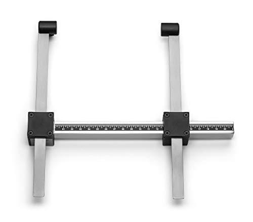 Cescorf kleine botantropmeter met koffer, aluminium schuifmaat, 180mm - Meet de breedte van de elleboog, knie, voet, pols, biestiolide, bimalolair, onderarm, dijbeen, humerus, dijbeen
