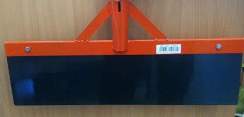 Kerbl 29262 Stoßscharre 50 cm ohne Stiel Blech mit 1 mm Stärke