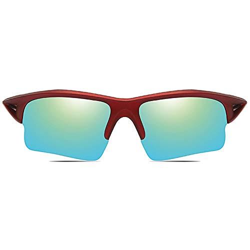 Stella Fella Ciclismo Deportivo Al Aire Libre Material for PC Gafas De Sol Marco Rojo Amarillo Verde/Azul Oscuro Lentes Hombres Y Mujeres con Las Mismas Gafas De Sol Polarizadas Antirreflejos