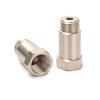 NETEHA Straight Screw Connector Plug Fitting M18 x 1.5 Accessory Plug 45mm 2PCS