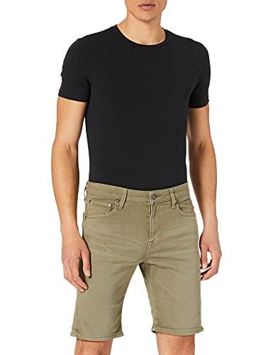 Jack & Jones JJIRICK JJICON Shorts AMA 558 STS Pantalones Cortos de Jean, Deep Lichen Green, M para Hombre