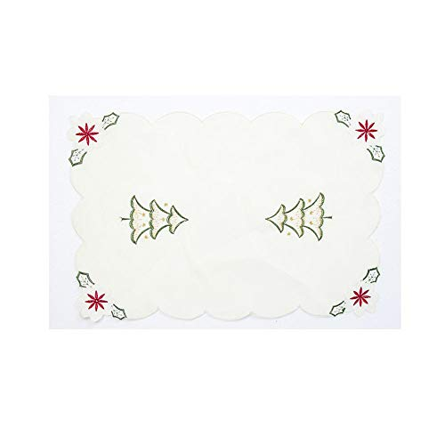 Lace Napkin - White Series Table Embroidery Placemat Tableware Cutter And K Desktop Decoration - Ornaments Drop Pendant Pendant Drop Ornaments Lace Napkin Bird Cotton Miniature Miter White