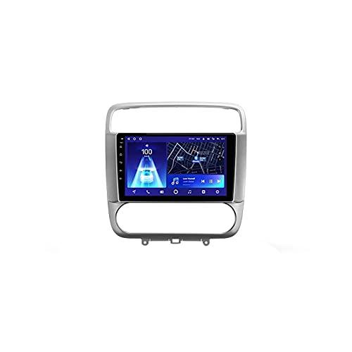 Android 10.0 Car Audio Stereo Head Unit Navegación GPS Soporta Bluetooth Voice Call WIFI Control del volante 1080P Video FM Radio, para Honda Stream 1 2000-2006