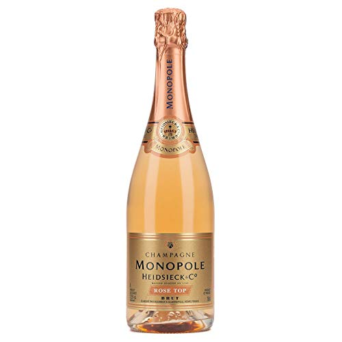Heidsieck & Co. Monopole Rosé Top Brut Champagner mit Geschenkverpackung (1 x 0.75 l) - 2