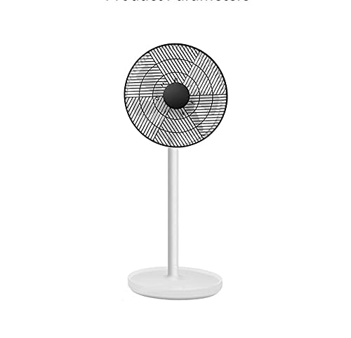YCSC Ventilador vertical, ventilador de piso, 7, 5 velocidades ajustable, ventilador silencioso, función de temporización, función de control remoto, oscilación automática, adecuado para el hogar