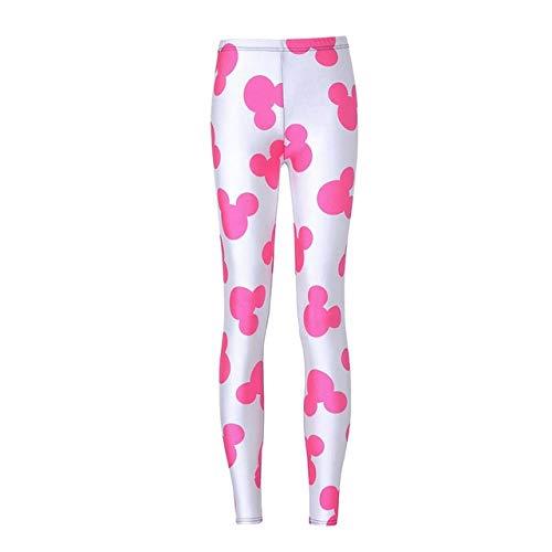 Mdsfe dames bedrukt patroon yoga gym leggings sport dames sportswear workout panty lopen sportswear 4XL 6-A572