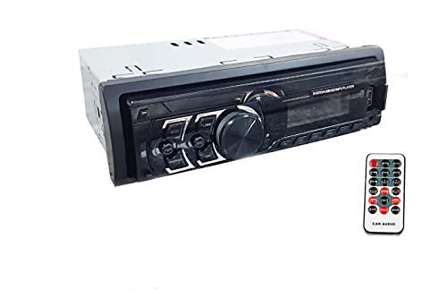 Autoradio FM stereo frontalino estraibile telecomando USB aux micro SD MP3 6781