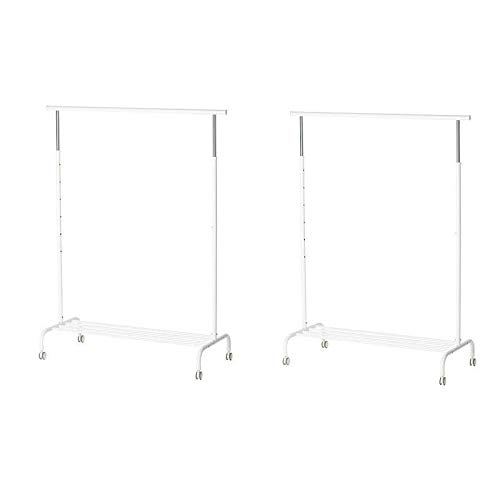 IKEA RIGGA – Clothes Rack, White