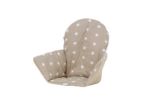 Polini Kids Sitzkissen Sitzeinlage für Ikea Antilop Sterne macchiato