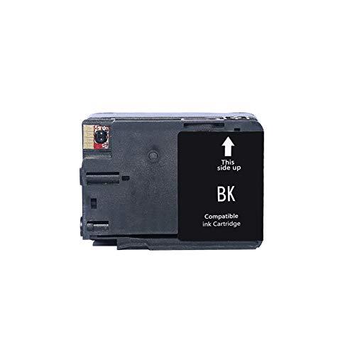 WSCA Für HP 932 933 Tintenpatrone, kompatibel mit HP OfficeJet 6100/6600/6700/7110/7510/7612 Drucker Vierfarb-Tintenstrahldrucker-Black
