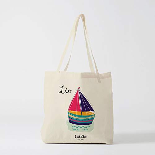 76DinahJordan kind Tote tas gepersonaliseerde canvas tas boodschappentas luiertas tas tas van boodschappen school tas strandtas boodschappentas