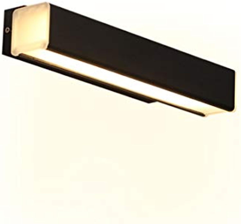 JINHONGH Moderne LED Wandleuchten 350 ° drehen warmwei Wandleuchte für Wohnzimmer Schlafzimmer Wandleuchte