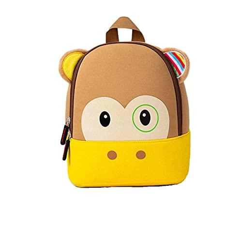 N\C Mochila para niños Mochila de jardín de Infantes para bebés Mochila de Animales de Dibujos Animados