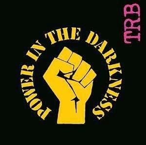 POWER IN THE DARKNESS WITH STENCIL VINYL LP 1978 TRB