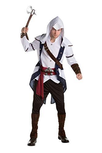 Generique - Connor Assassins Creed Kostüm für Erwachsene Einheitsgröße
