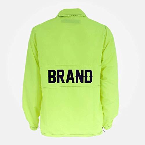 Blusa Seven Brand Anorak Verde Neon Tamanho:G;Cor:Verde