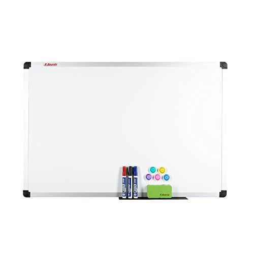 Deutsche-Handelsgesellschaft Whiteboard stabil Größen Magnettafel Schreibtafel Magnetboard Memoboard Pinnwand 60 x 45 cm