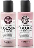 Maria Nila Luminous Color Mini Champú y Acondicionador Set – 100 ml cada uno