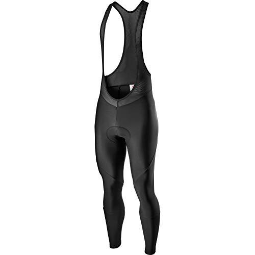 Castelli Entrata Bibtight, Pantaloncini Ciclismo Uomo, Black, L