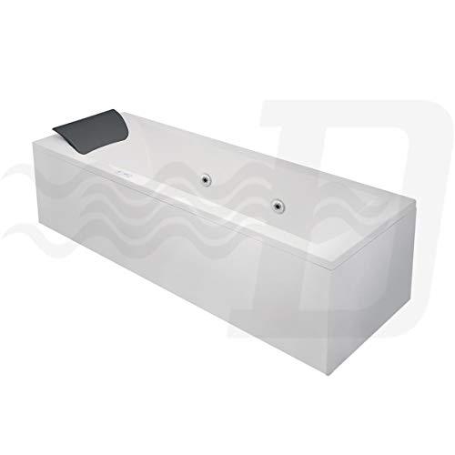 Bañera de hidromasaje con marco y paneles mod. Y-Idro (180 x 80 cm)