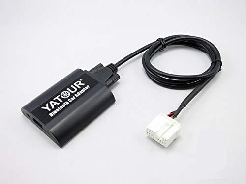 Suzuki Auto Bluetooth-Adapter, Digital Auto Stereo Aux Adapter Hände frei Call mit Lade-& 3,5 mm Audio Musik Eingang (bta-suz2)