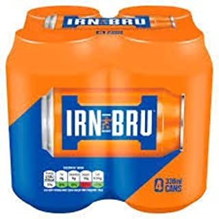 Irn Bru Real Sugar 11.2 oz cans x 8 pack Imported from Scotland