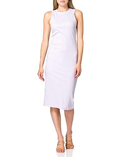 Vero Moda VMLAVENDER SL Calf Dress VMA Color Vestito Casual, Lilla Pastello, S Donna